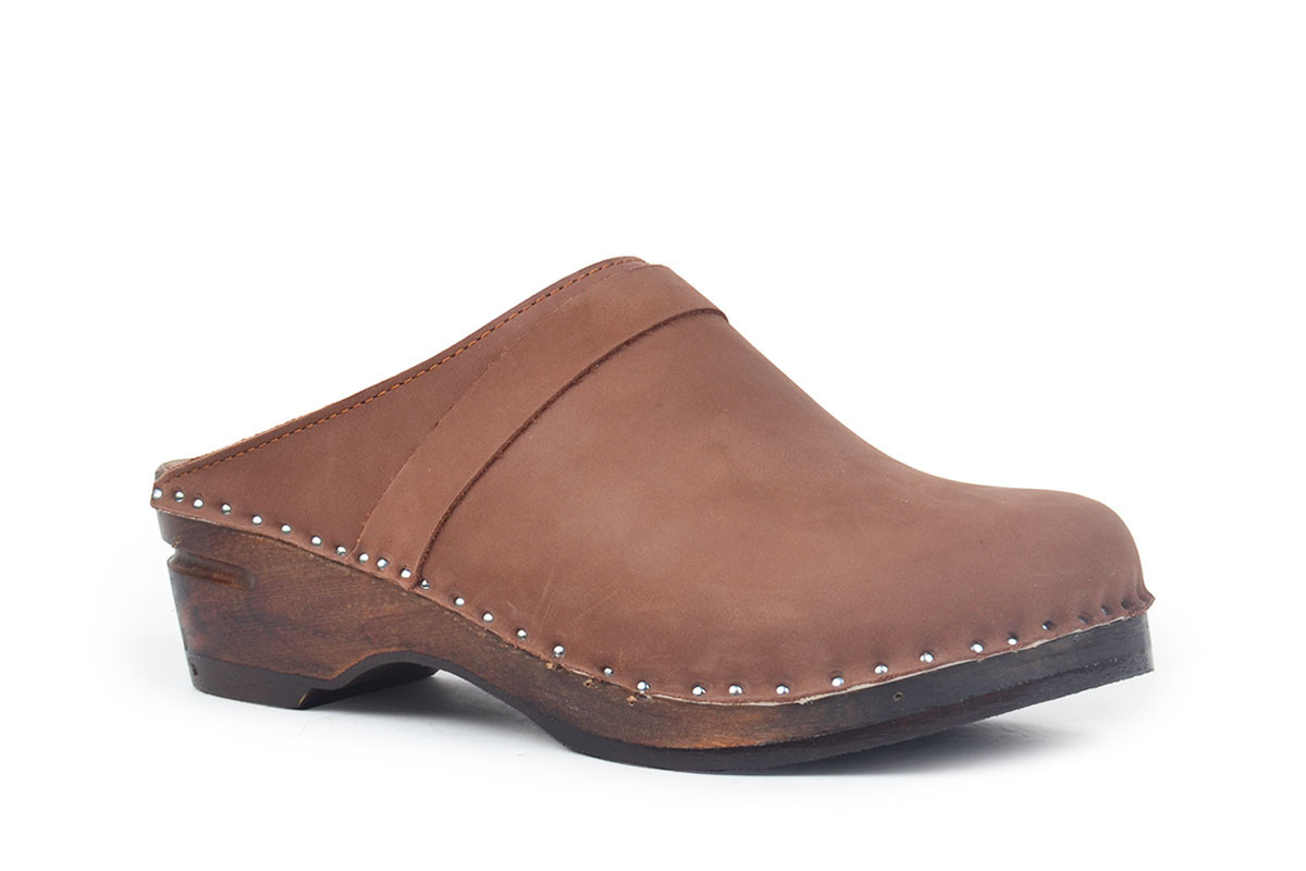 Da Vinci Brown Nubuck