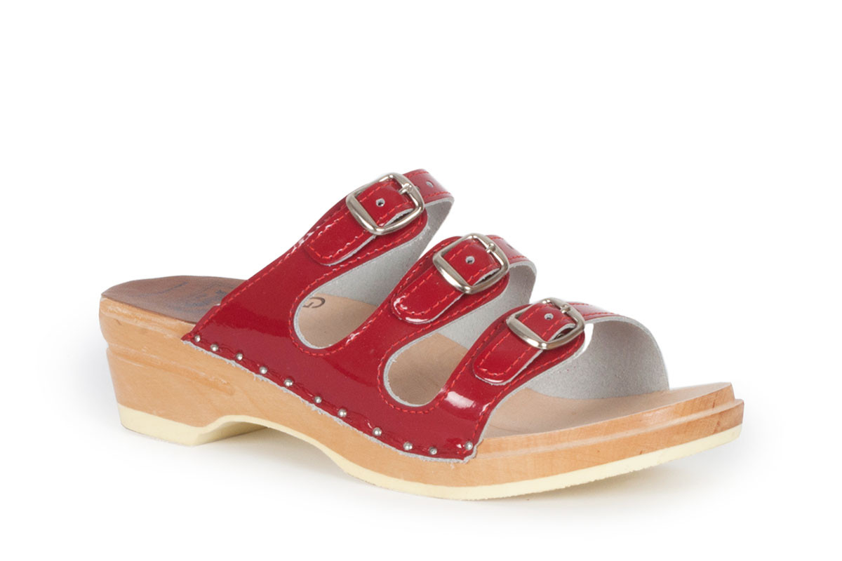 Daisy Red Patent