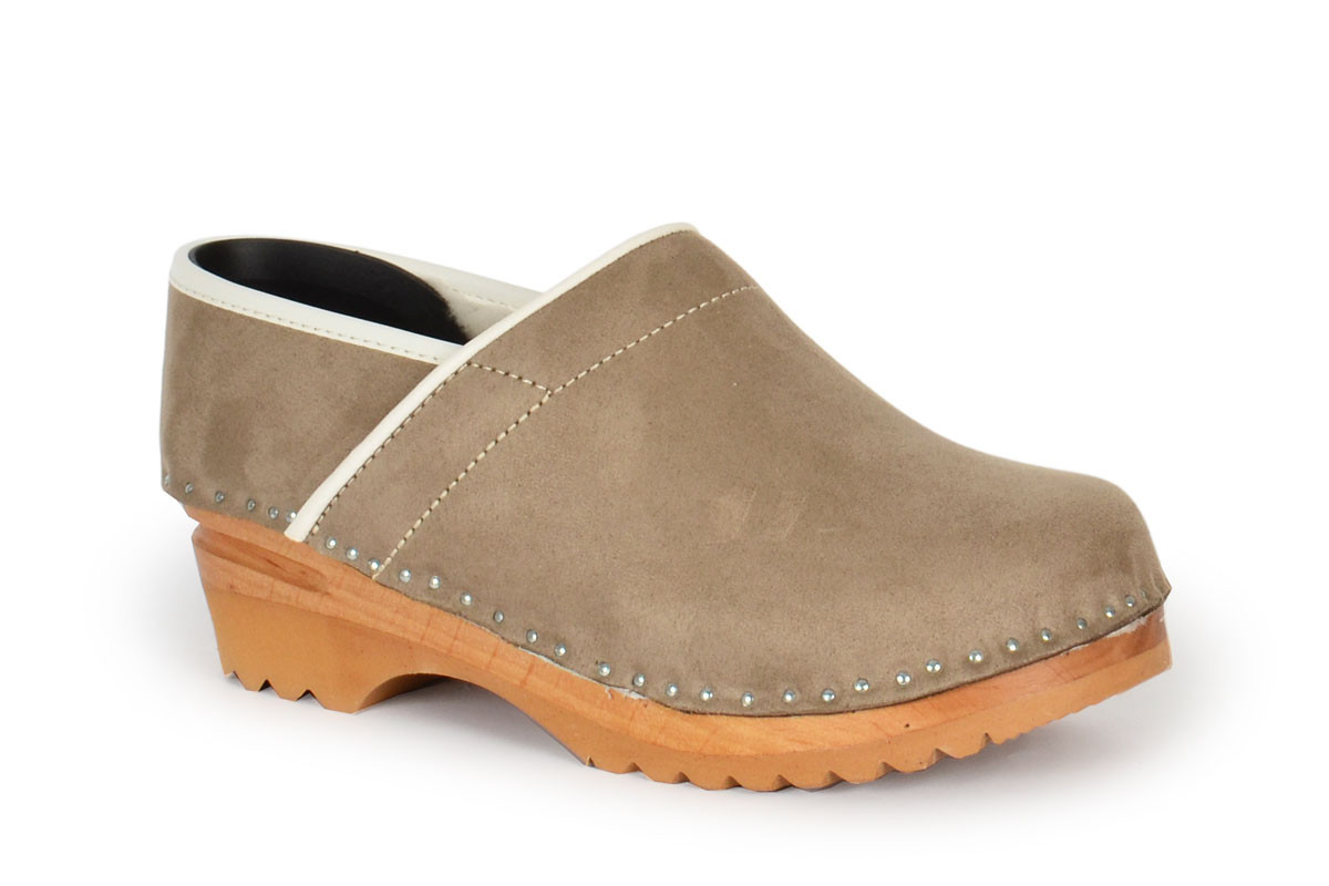 Larsson Taupe Suede