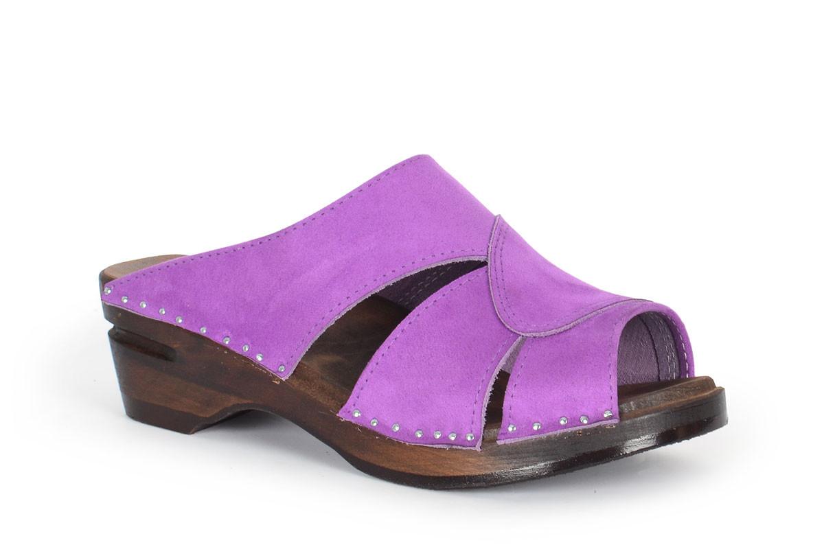 Mariah Purple Suede