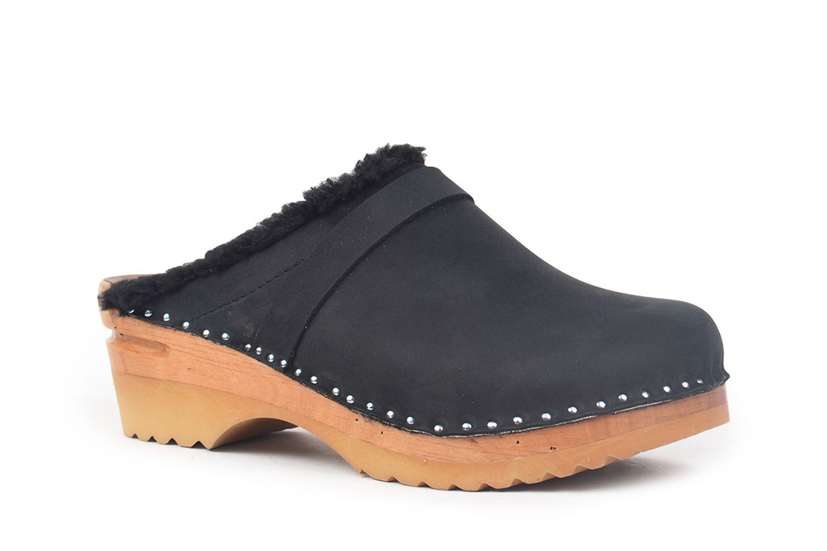 Munch Black Nubuck-Ideal