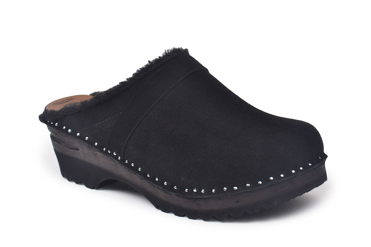 Munch Black Suede