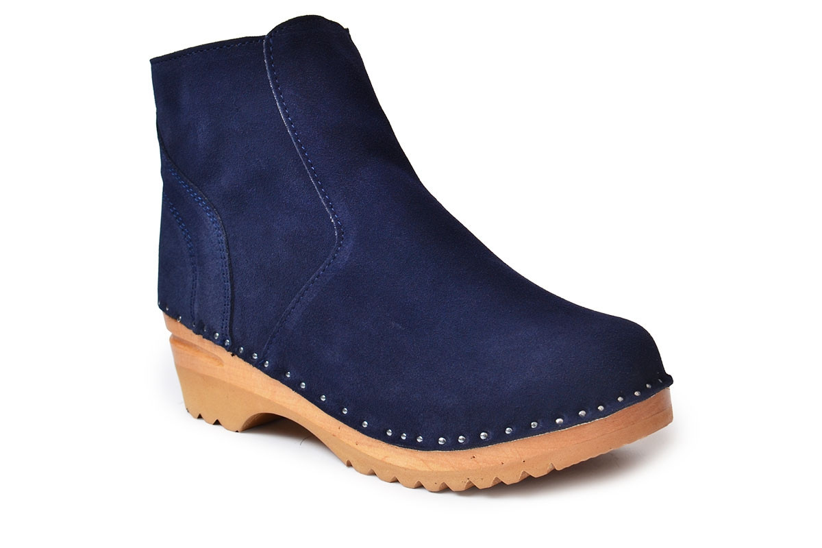 Turner Navy Blue Suede