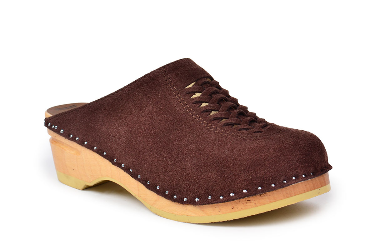 Wright Brown Suede