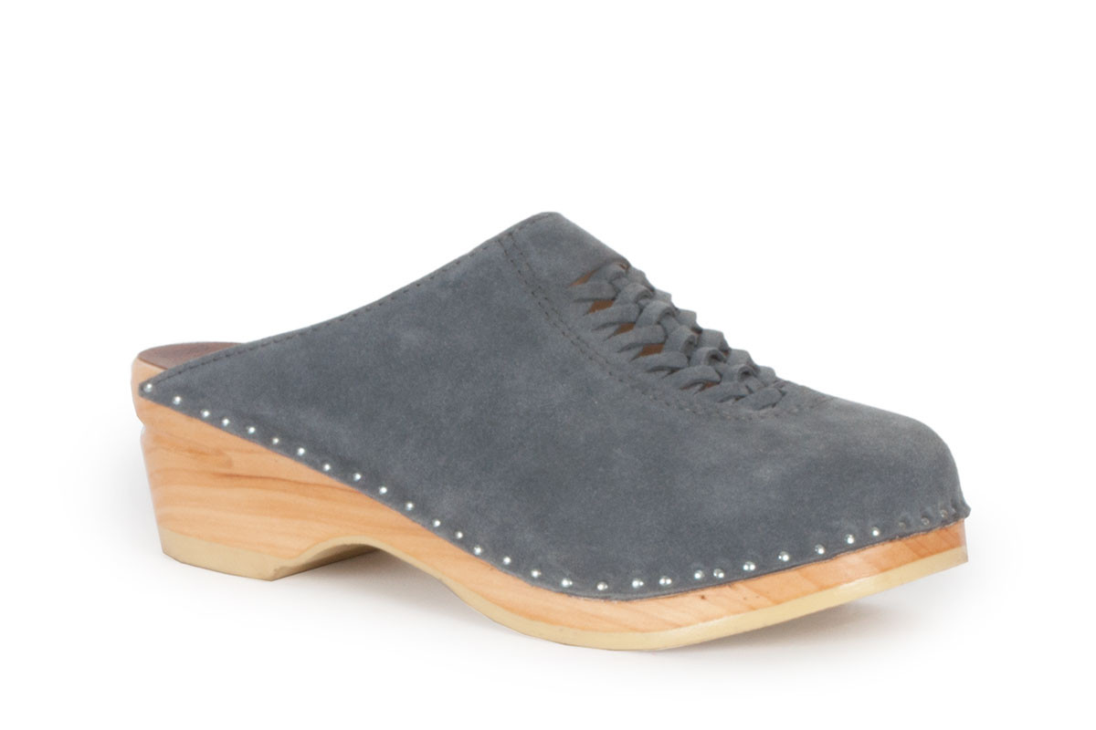 Wright Steel Suede
