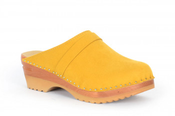 Da Vinci Yellow Vegan Suede