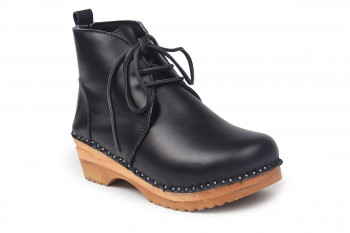 Morris Shearling Boot Black