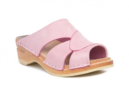 Mariah Powder Pink Suede
