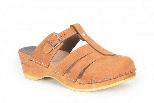 Mary Jane Toffee Suede